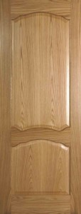 Internal Oak Louis FD30 Fire Door Prefinished