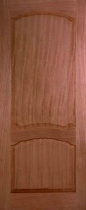 Internal Hardwood Louis Door Unfinished