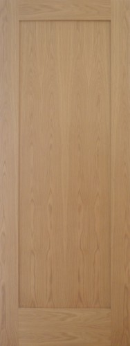 Internal Oak Shaker 1 Panel Door Prefinished