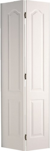 Internal White Moulded Woodgrain Classique Bi-fold Door Primed
