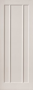 Internal White Moulded Smooth Cuba Door Primed