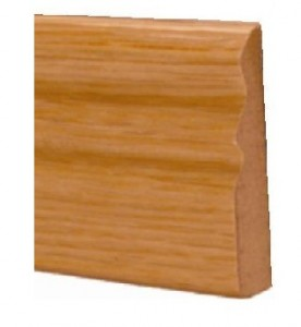 Oak Ogee Door Stop Prefinished