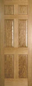 Internal Oak Colonial 4 Panel Door Prefinished