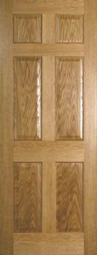 Internal Oak Colonial 4 Panel Door Prefinished