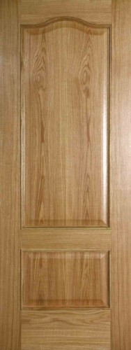Internal Oak Seville FD30 Fire Door Prefinished