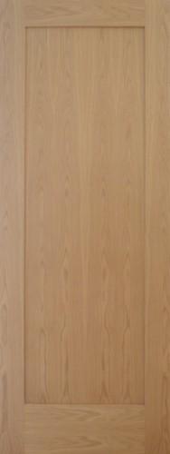 Internal Oak Shaker 1 Panel Door Prefinished