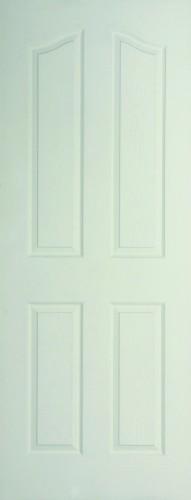 Internal White Moulded Woodgrain Carmelle Door Primed