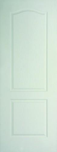 Internal White Moulded Woodgrain Classique Door Primed