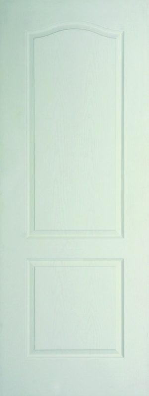 Internal White Moulded Woodgrain Classique FD30 Fire Door Primed