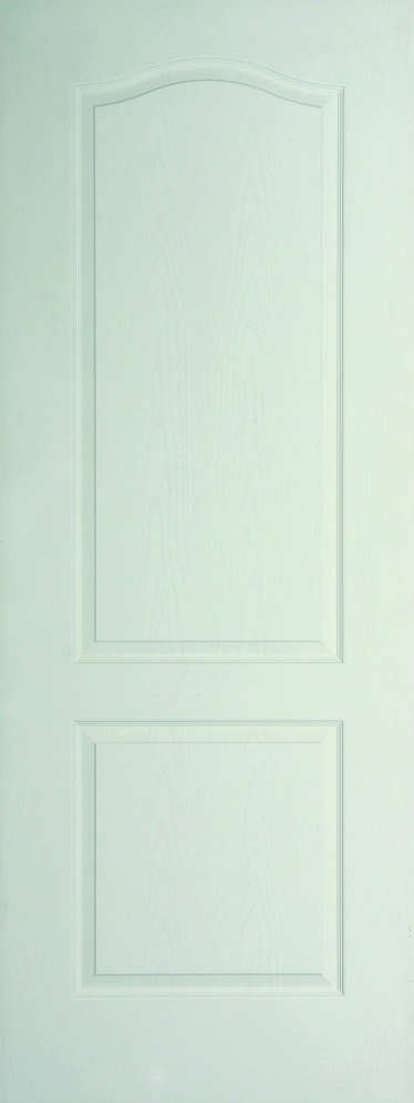 Internal White Moulded Woodgrain Classique FD30 Fire Door Primed