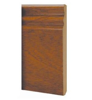 Sapele Ogee Skirting Prefinished