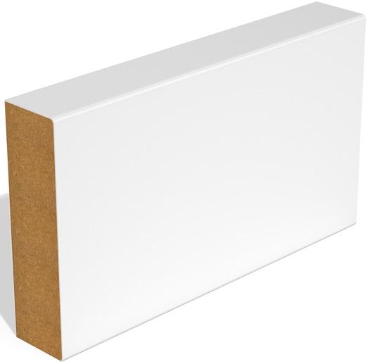 White R2A Door Stop Primed