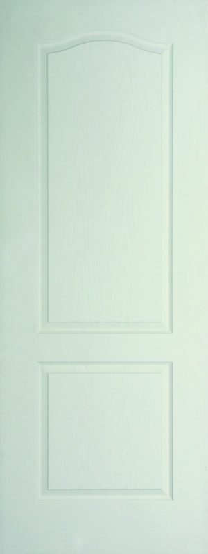 Internal White Moulded Woodgrain Classique FD60 Fire Door Primed