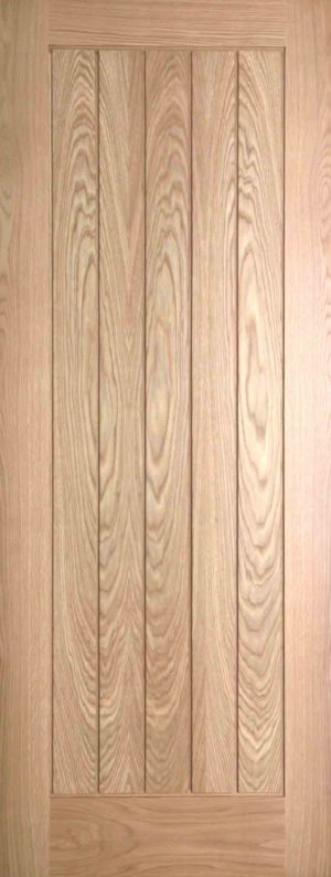 Internal Oak Mexicano FD30 Fire Door Prefinished